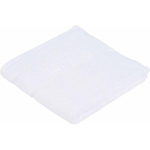Gözze Handtücher »Uni« (2-St), in Bio-Baumwolle, weiß