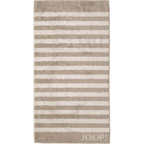 Joop! Duschtuch »Stripes« (1-St), mit dezenten Streifen, sand