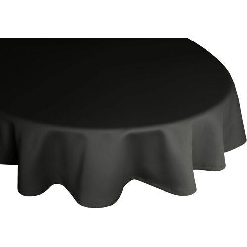 Wirth Tischdecke »NEWBURY«, rund, schwarz