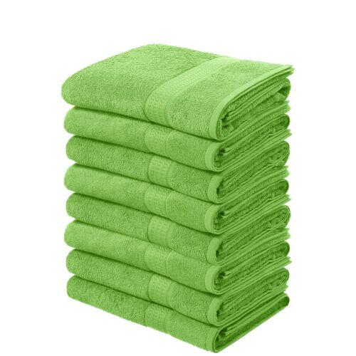 my home Handtücher »Juna« (8-St), im Vorteilspack, grün