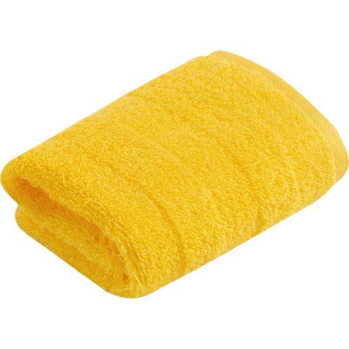 Vossen Waschlappen »Fresh« (3-tlg), BIO und VEGAN, hot sun