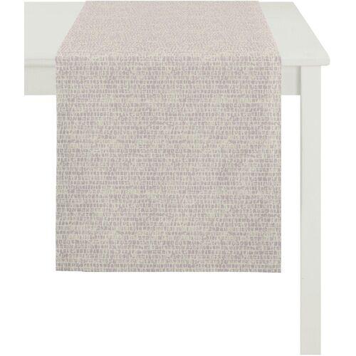 Apelt Tischläufer »1103 Loft Style, Jacquard« (1-tlg), rosé