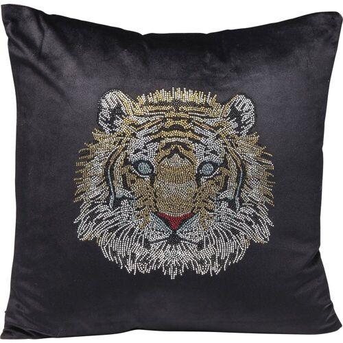 KARE Dekokissen »Kissen Tiger Face 45x45cm«