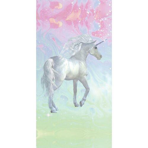 good morning Strandtuch »Unicorn« (1-St), mit Einhorn
