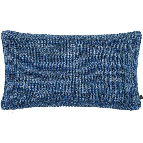 Marc O' Polo Home Dekokissen »Kuara«, kuscheliger Strick, blau