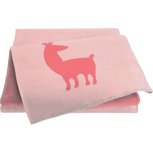 BIEDERLACK Babydecke »Alpaca«, , rosa