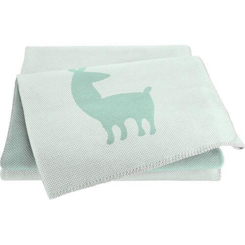 BIEDERLACK Babydecke »Alpaca«, , grün