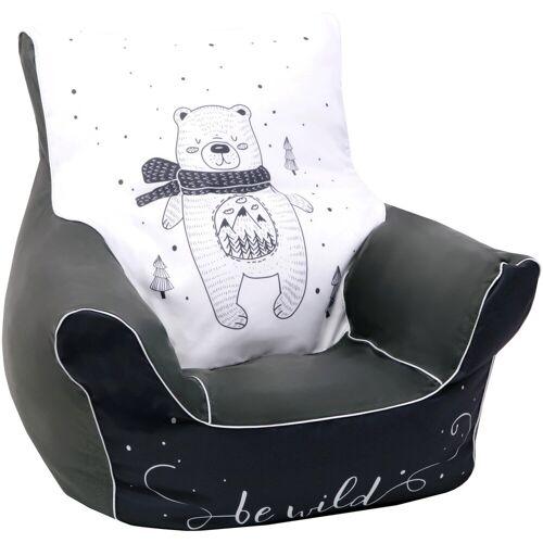 Knorrtoys® Sitzsack »Bear«, für Kinder
