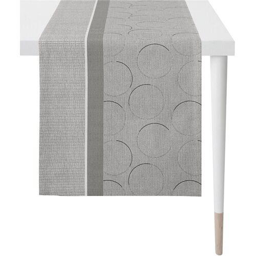 Apelt Tischläufer »1305 Loft Style, Jacquard« (1-tlg), grau