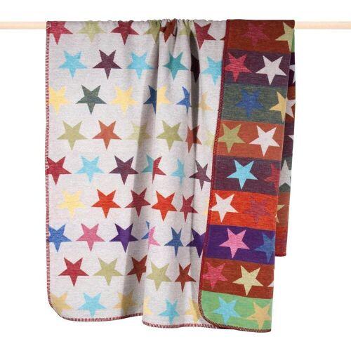 PAD Wohndecke »Stars«, , mit bunten Sternen