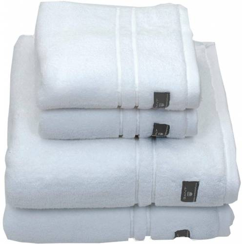 Gant Badetuch »Premium«, , hochwertiges Zero-Twist Garn, white
