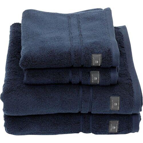 Gant Handtücher »Premium«, , hochwertiges Zero-Twist Garn, sateen blue