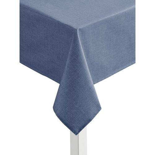 Tischdecke, blau