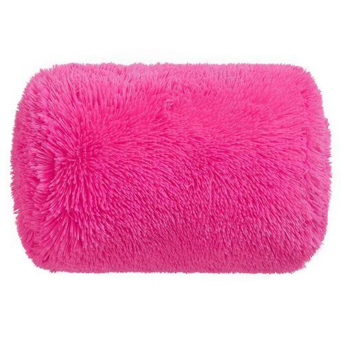 my home Dekokissen »Shaggy«, mit puscheligem Griff, pink