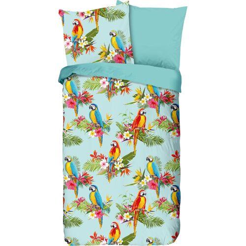 good morning Kinderbettwäsche »Parrot«, , mit Papageien