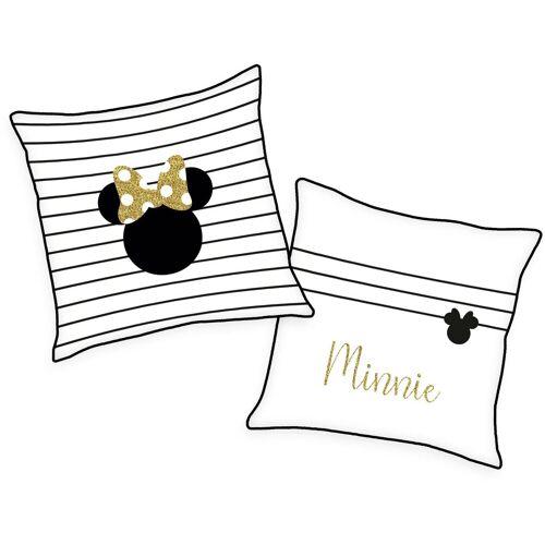 Disney Walt Disney Dekokissen »Minnie Mouse«, mit süßem Schriftzug