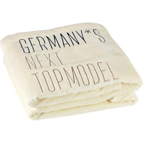 Germany's Next Topmodel Wohndecke »GNTM«, , mit Stickerei