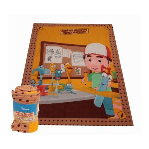 HTI-Living Kinderdecke »Kuscheldecke Meister Mannys Werkzeugkiste«, , Kuscheldecke