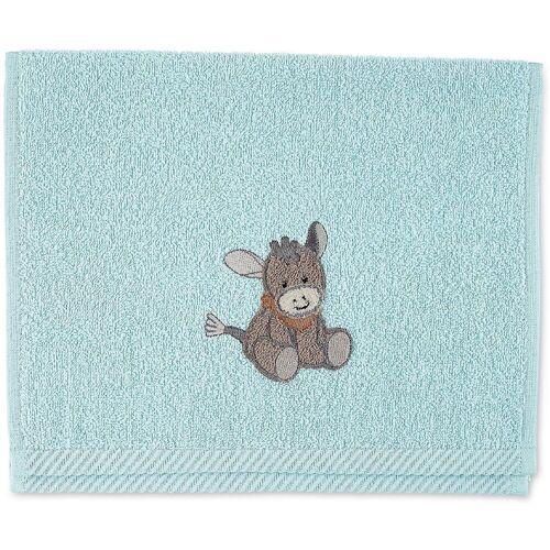 Sterntaler® Handtücher »Kinderhandtuch Emmi«, hellblau