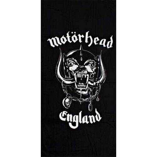 Motörhead Badetuch »MOTÖRHEAD HANDTUCH DUSCHTUCH LOGO 100% BW CA:150X75 CM NEU TOP«