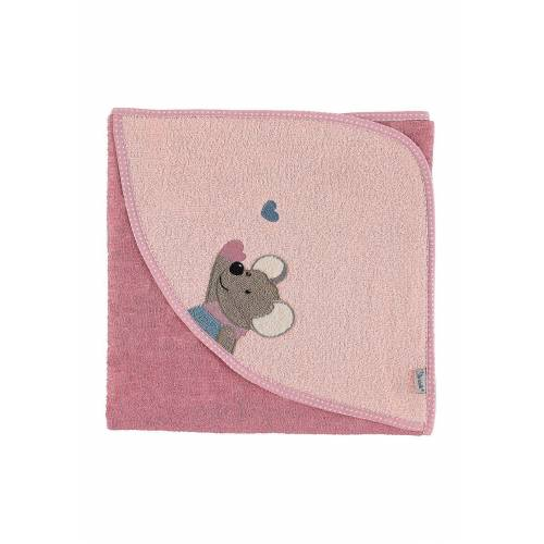 Sterntaler® Badetuch »Frottee Badetuch 80 x 80 Mabel Kapuzenbadetücher«