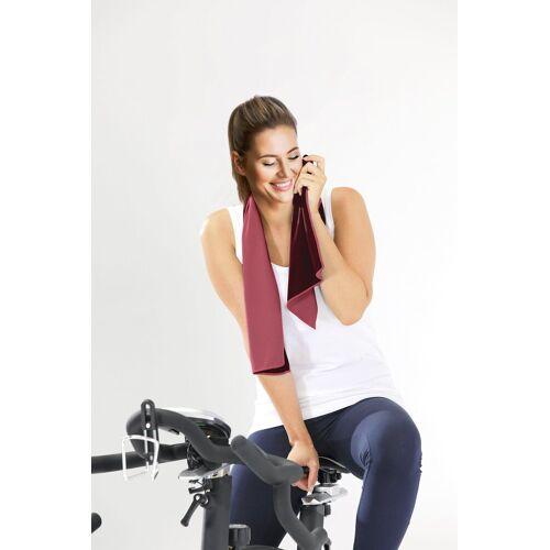 Gözze Handtuch »Kühltuch« (3-St), 3 Stk., für Sport & Fitness, pink