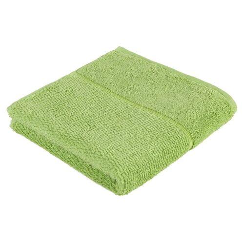 Möve for frottana Handtuch »Pearl« (1-St), mit Perloptik, grün