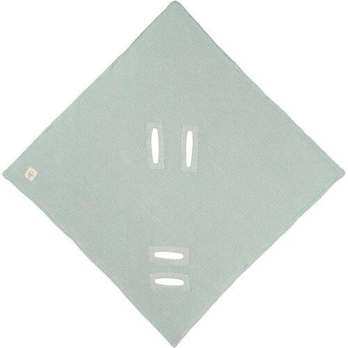 Lässig Einschlagdecke »Einschlagdecke für Babyschale, mint«, , mint