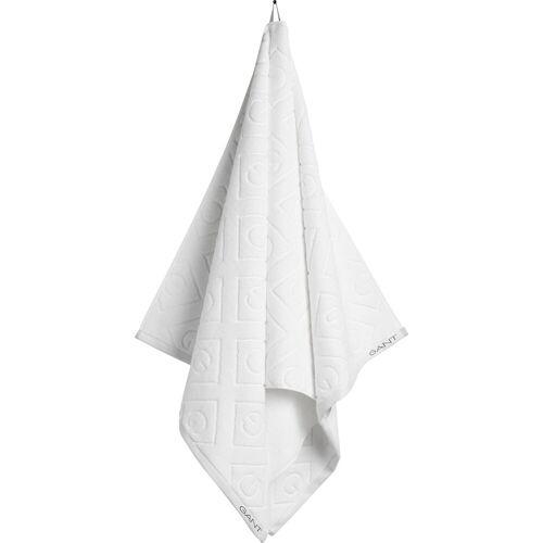 Gant Badetuch »Organic G« (1-St), white