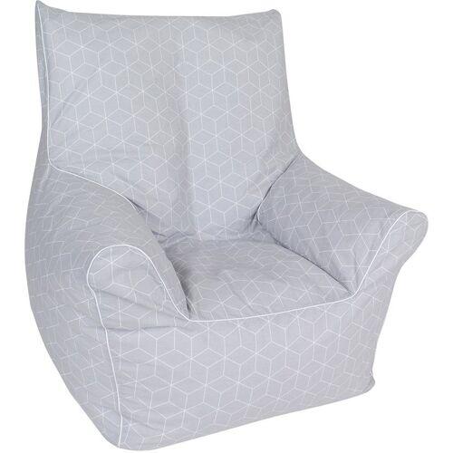 Knorrtoys® Sitzsack »Geo cube, grey«, für Kinder