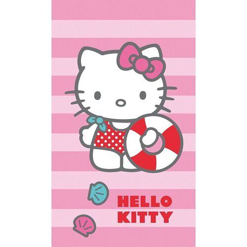 CTI Badetücher »Strand- / Badetuch Hello Kitty, 70 x 120 cm«