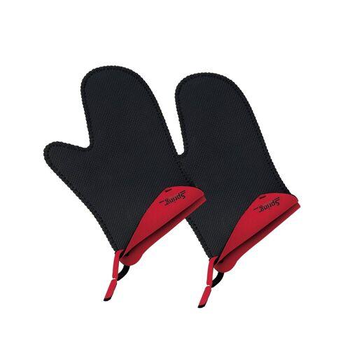 Spring Topfhandschuhe »Topfhandschuh kurz 1 Paar Grips«, Rot