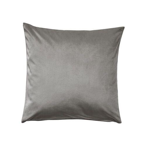 Kissenhülle, (1 Stück), grau-silbergrau-silberfarben