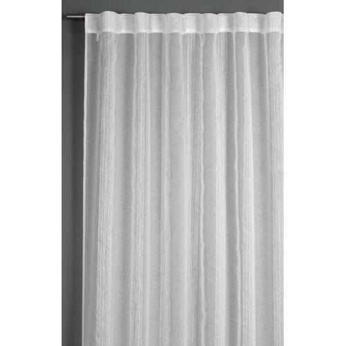 GARDINIA Dekoschale »Streifen weiß 140 x 245 cm«