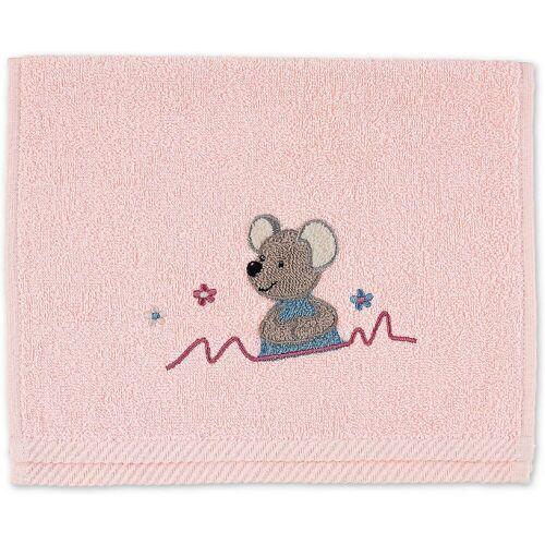 Sterntaler® Handtücher »Kinderhandtuch Emmi«, hellrosa