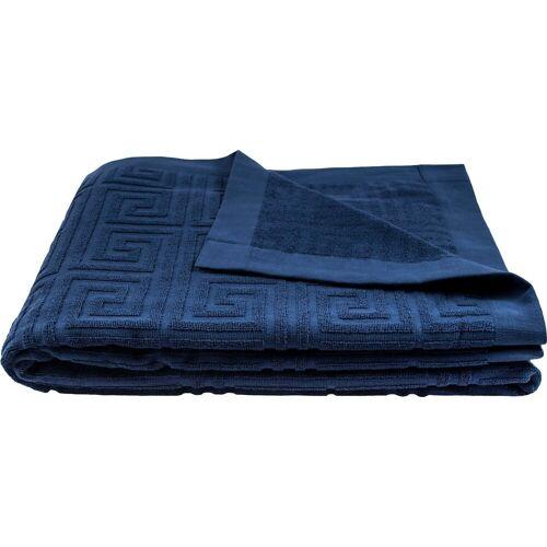 zoeppritz Strandtuch »Water Leg« (1-St), in Übergröße mit Struktur, jeans