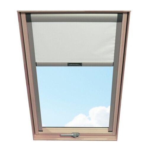 RORO Türen & Fenster RORO TÜREN & FENSTER Verdunkelungsrollo BxL: 74x118 cm, weiß, weiß