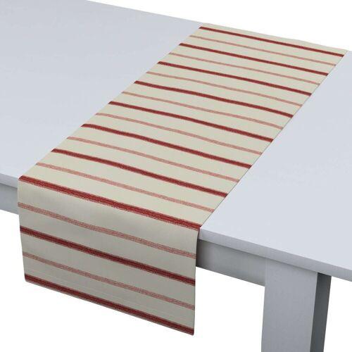 Dekoria Tischläufer, creme- rot