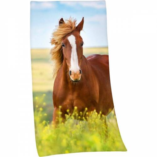 Herding Badetücher »Strand- / Badetuch Pferd 75 x 150 cm«