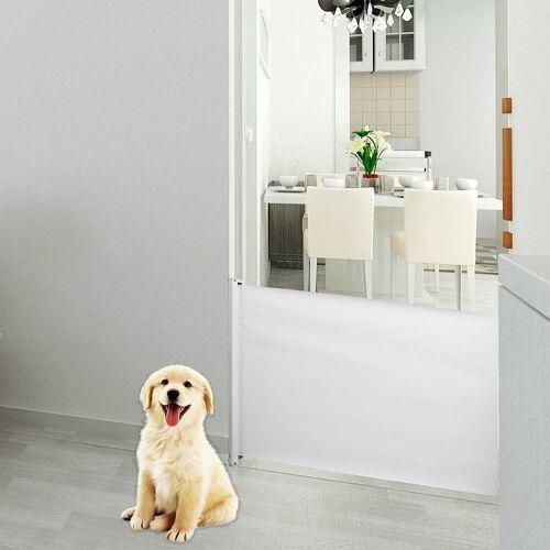Mucola Treppenschutzgitter »Türschutzgitter Treppenschutz Absperrgitter Treppengitter«, ausziehbar