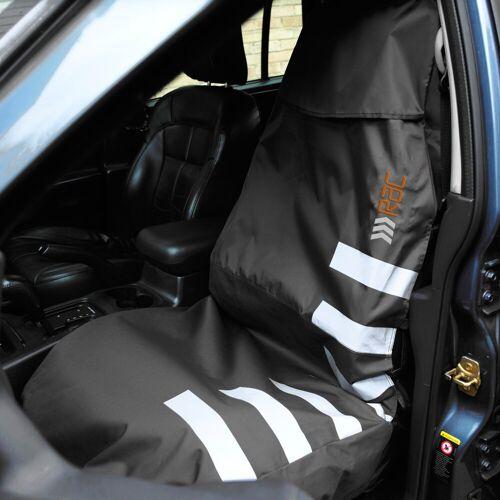 HEIM RAC Autositzbezug »Vordersitzschutz«, BxH: 142x68 cm, schwarz