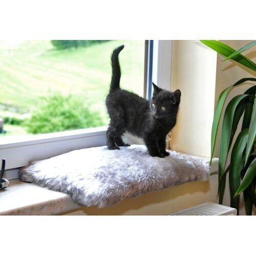 SILVIO design Katzenliege »Fensterliege Relax«, grau