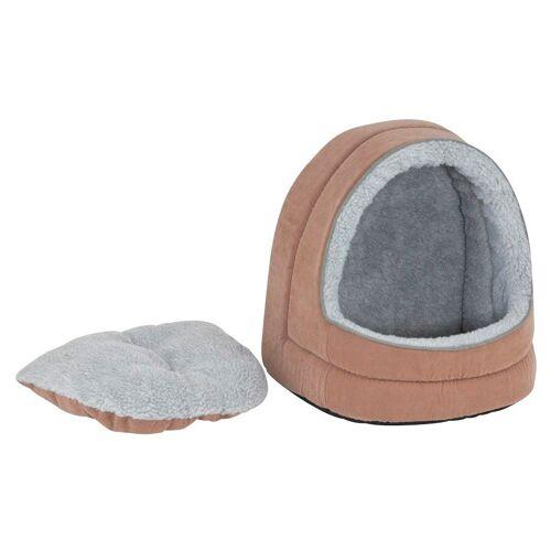 SILVIO design Hundehöhle und Katzenhöhle »Dolly«, beige/grau