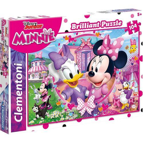 Clementoni® Puzzle »Puzzle 104 Teile - Minnie & Daisy«, Puzzleteile