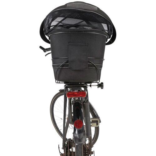 TRIXIE Hunde-Fahrradkorb für schmale Gepäckträger, BxTxH: 29x48x42 cm, schwarz
