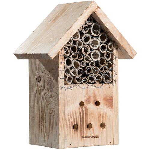 Windhager Insektenhotel »Zur Post«, BxTxH: 20,5x12,5x27 cm, braun