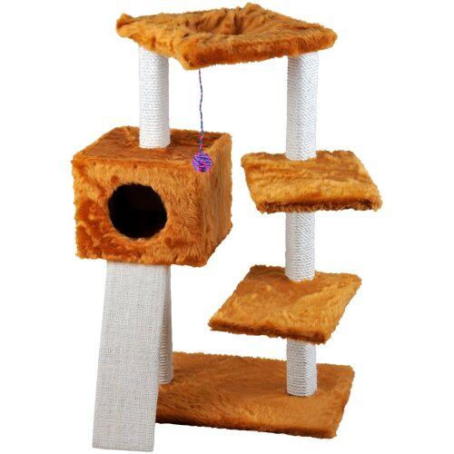 Cat Dream Kratzbaum »Felix«, B/T/H: 82/36/98 cm, honigbraun, honigbraun
