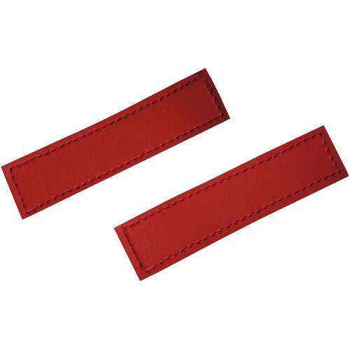 HEIM Klettlogo »rot«, (2 St), für Hunde-Profigeschirr
