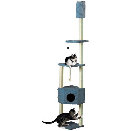 Cat Dream Kratzbaum-Deckenspanner , B/T/H: 38/38/230-260 cm, blau, blau