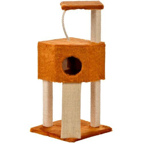Cat Dream Kratzbaum »Eckboy «, B/T/H: 40/40/112 cm, honigbraun, honigbraun
